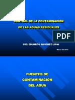 Control de La Contaminacion de Aguas Residuales. Eduardo SL