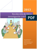 Reccoleccion de Datos (Inv Concluyente)