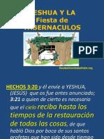 Yeshua y La Fiesta de Tabernaculos. Conferencia(1)