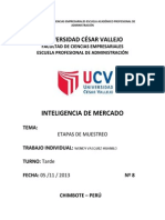 Analisis de La Participacion de Mercado de Television Por Cable en Chimbote