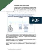 APLICACIÓN DE LAS NIIF EN EL ECUADOR - Contabilidad.docx