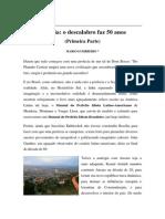 Textos IL - Colaboradores - Brasília -  o descalabro faz 50 anos