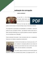 Textos IL - Colaboradores - Col - MG - A  banalização da corrupção