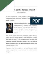 Textos IL - Colaboradores - Col - MG - Enfim um político franco e sincero