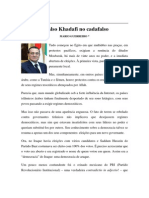 Textos IL - Colaboradores - Col - MG - Falso Khadafi No Cadafalso