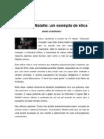 Textos IL - Colaboradores - Col - MG - Mãe de Natalie um exemplo de ética