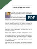 Textos IL - Colaboradores - Col - MG - QUANDO A GRAMÁTICA TORNA-SE DRAMÁTICA