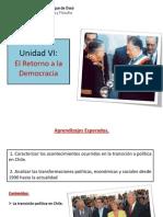 Retorno a La Democracia. III Medios