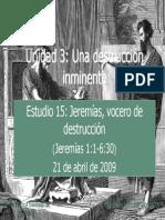 15 Jeremias Vocero de Destruccion