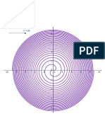 Curvas polares VII - Espiral de Fermat