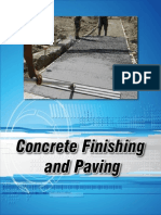 14 Concrete Finishing
