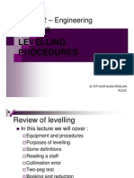 Surveying BEC102 2 - Levelling