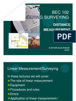 Surveying BEC102 3 - Linear