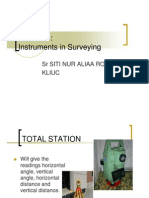 Surveying BEC102 9 - Instruments