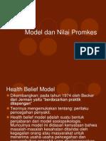 Model Dan Nilai Promkes