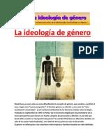 La ideología de género