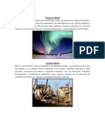 INFORME FENÓMENOS Y DESASTRES CANTA