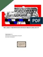 Penuangan Logam