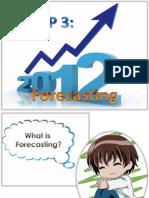 GROUP 3 Forecasting