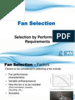 2a. Fan Selection Basics R4B