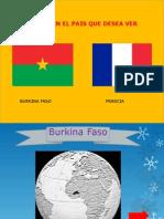 Francia y Burkina