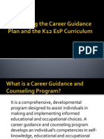 Developing the Career Guidance Plan and the K12