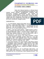 Ana Kidung Versi Lombok