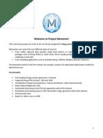 Project Memento