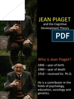 Jean Piaget and the Theory of Cognitive Developmenent