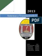 Sistemas y Transformada Z