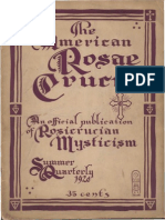 AMORC - The American Rosae Crucis, Summer 1920