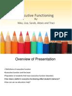 Executive Functioning Presentation
