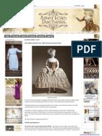 Siglo XVIII Proporciones Vestidos