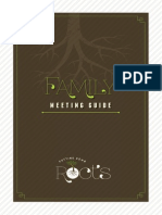 Putting Down Roots---Family Meeting Guide