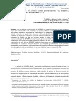 IIISIMPOSIO SANTIAGO DANTAS - A consolidação do BNDEs como  Instrumento da Política Externa no governo Lula
