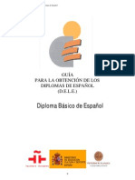 [DELE] Diploma Basico de Espanol