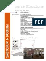 SU Podium Course Structure