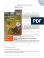 Text Sample Because of Winn Dixie by Kate Dicamillo