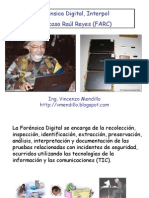 Forensica Digital, Interpol y FARC