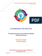 A Framework for Practice Bicpm 1day Training Notes