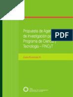 Propuesta Agenda Investigacion Programa Cyt Actualizada