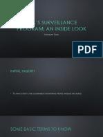 exploratory study on the nsas surveillance programs