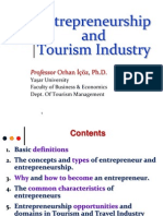 Entrepreneurship & Tourism Industry