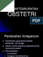 Kegawatdaruratan Obstetri-Dr Arif