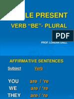 Simple Present Be-plural