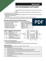 6162 Series Keypad Programming Supplement