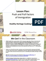 Push and Pull Factors of Immigration