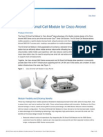 Cisco 3G SmallCell Module DataSheet