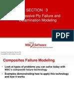 MSC NASTRAN patran Progressive Failure and Delam 021712