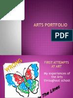 Arts Portfolio